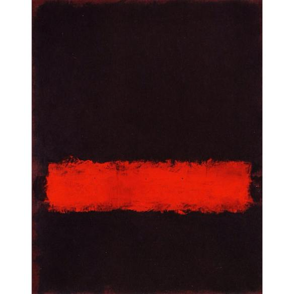 Black, Red and Black - Mark Rothko, 1968