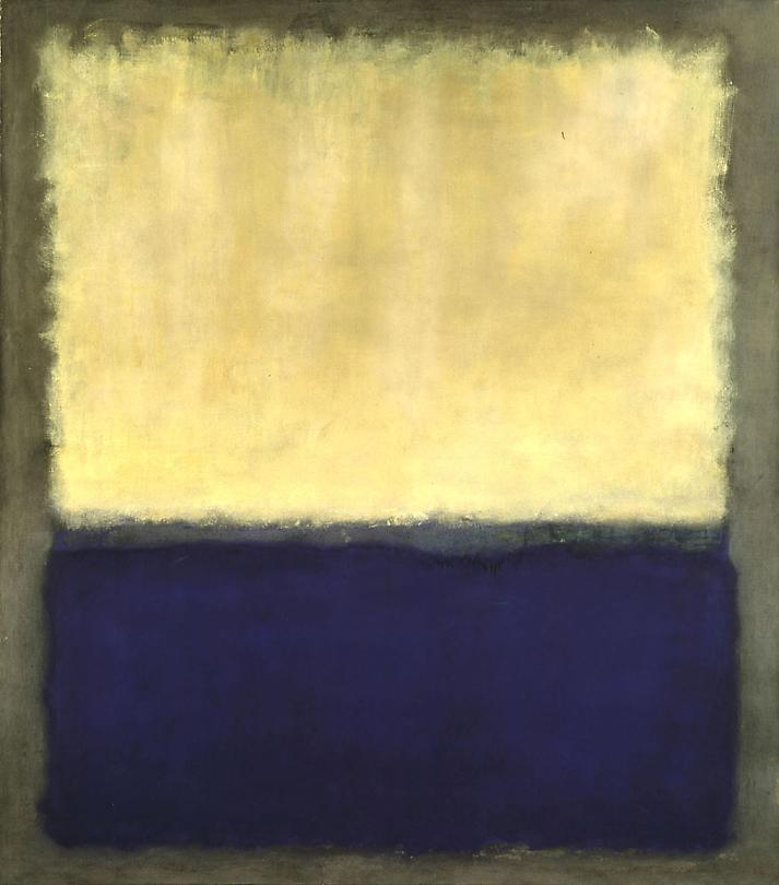 Mark Rothko, Light, Eart and Blue, 1954
